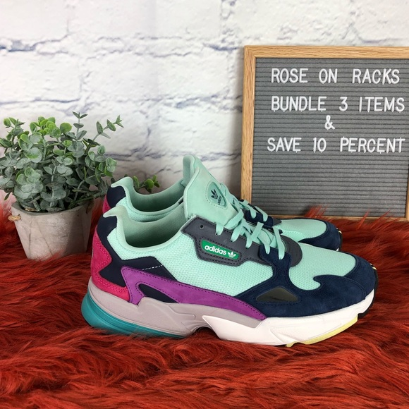 new concept 0532f b71fc adidas Shoes - Adidas Flacon Grand Pa Sneakers Multi Mint